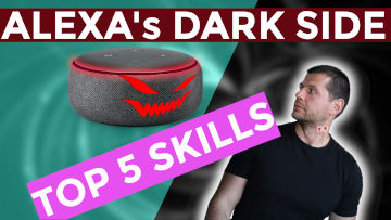 Alexa's dark side top 5 scary skills. A vampire alexa is looking at me, i'm scared and she seems that already bite my neck as vampires do