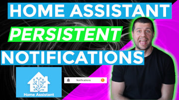 Home Assistant persistent notification thumbnail