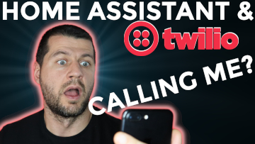 I'm looking at my phone and I Can't believe that home assistant is calling me using twilio