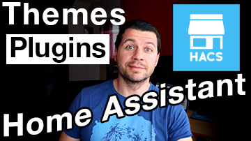 Peyanski looking through themes and plugins, home assistant labels and HACS