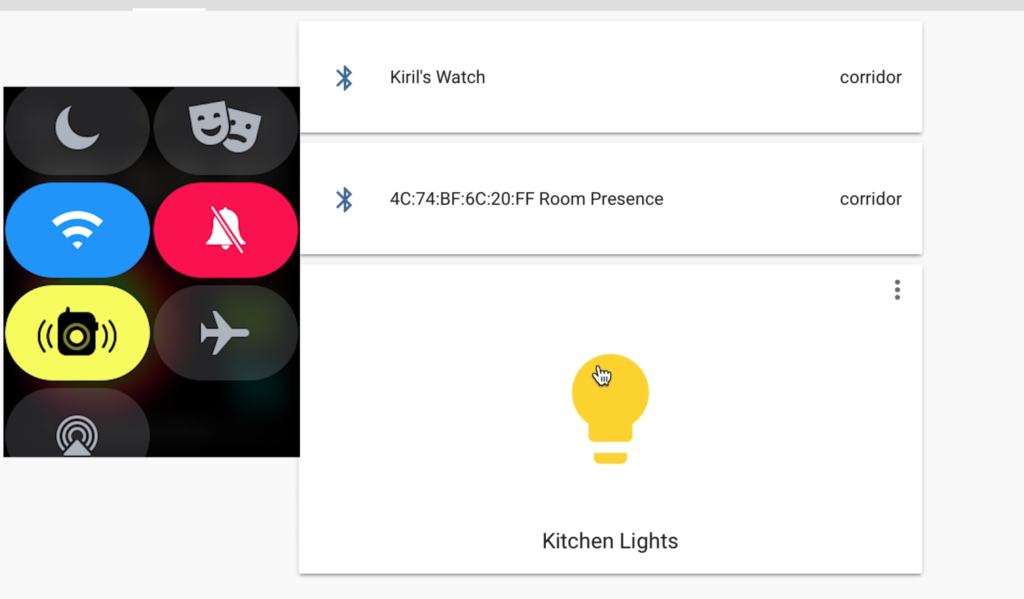 Testing the Home Assistant Automation using a smart watch