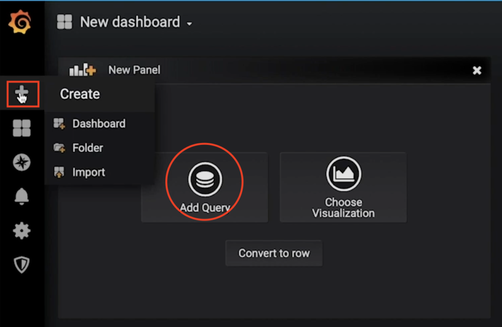Adding Grafana Dashboard