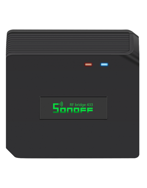 Sonoff RF Bridge with glowing in Green label