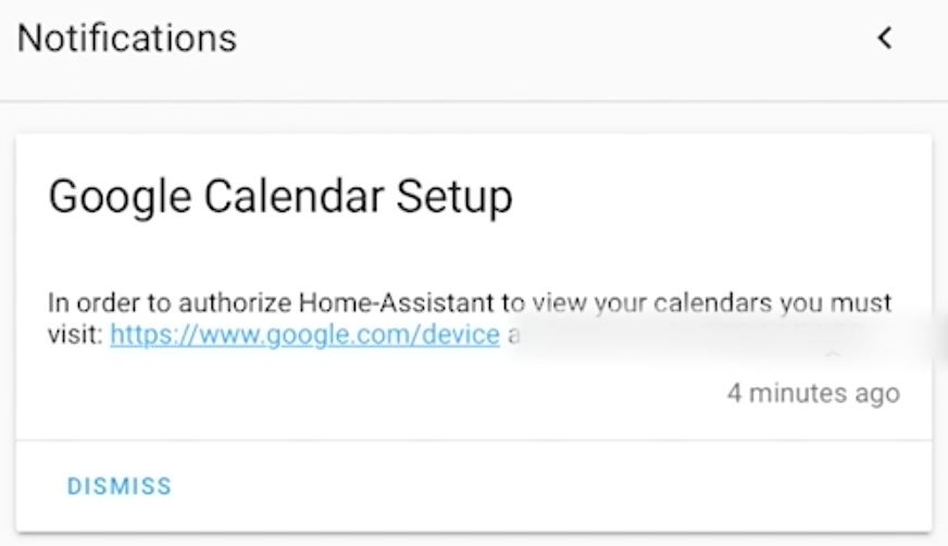Linking Google Calendar and Home Assistant calendar
