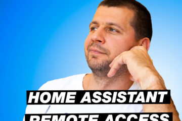 Me and home assistant remote access label