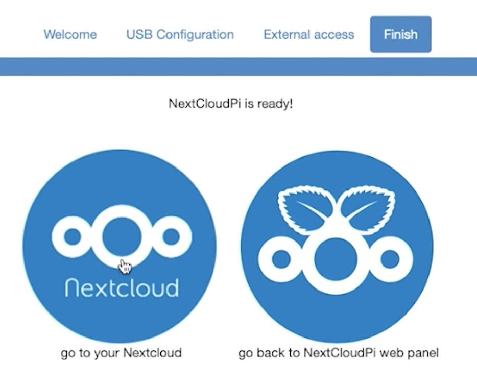 Nextcloud and NextCloudPi are ready to be opened