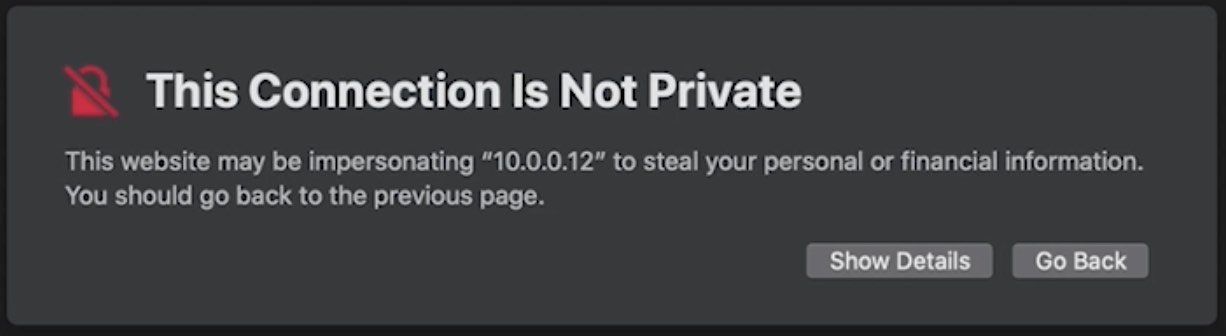 No SSL certificate in Nextcloud leads to such warnings