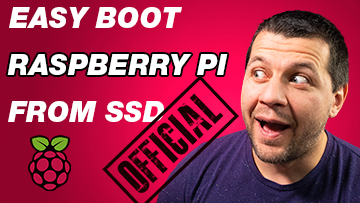 Kiril Peyanski's looking at easy boot raspberry pi from SSD official label