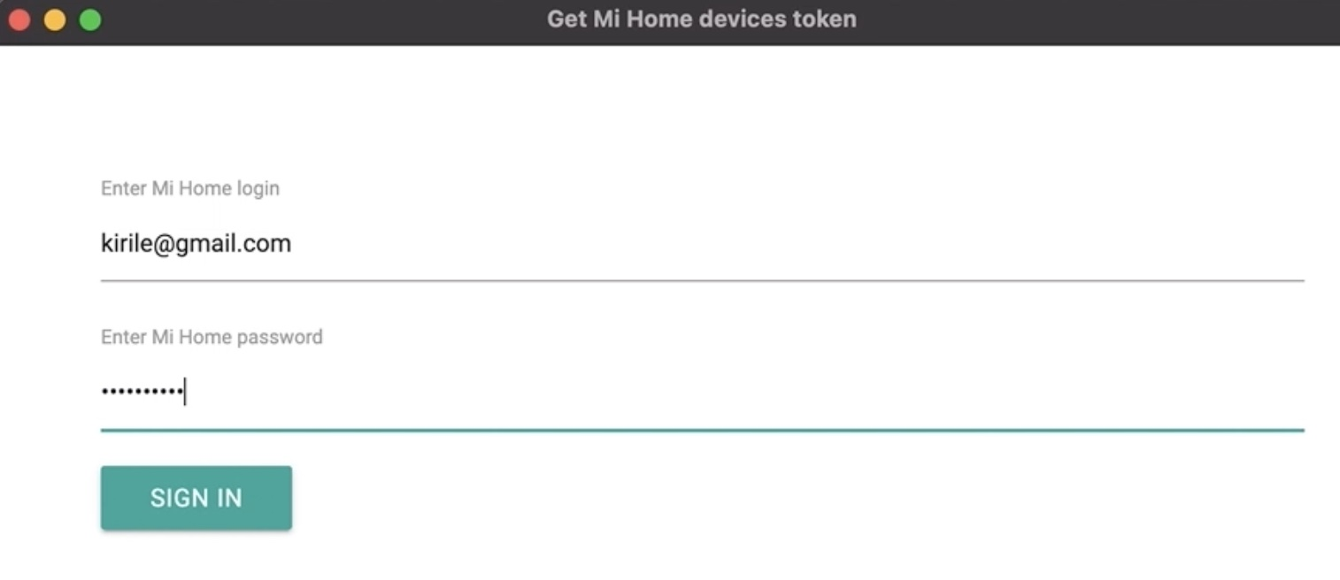 Even easier method for extracting the Xiaomi Access Token for the Home Assistant Xiaomi Vacuum integration