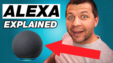 Kiril Peyanski with Alexa explained label and Echo Dot 4th gen picture
