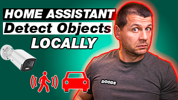 Home Assistant Detect Objects Locally and Person and Car icons with DOODS with Kiril Peyanski