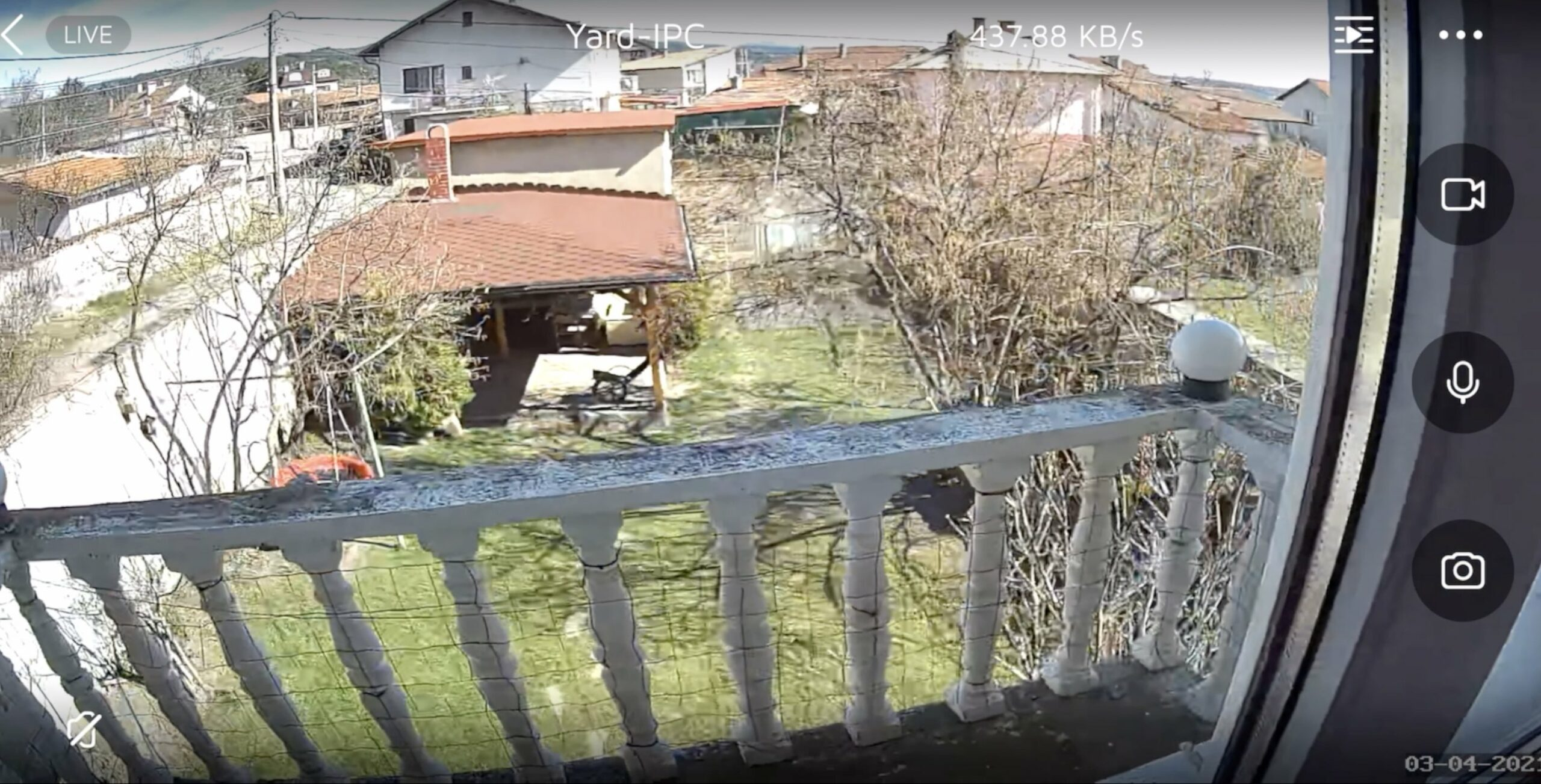 Vacos Cam Live view daylight!
