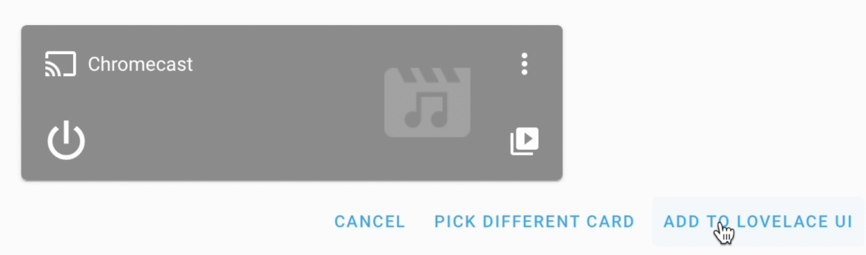 Using the Home Assistant Google Cast integration you can see what is playing at the moment on your Chromecast device and you can control it.