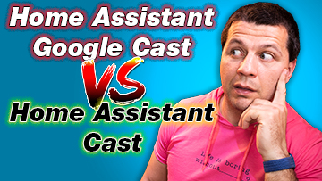 Home Assistant Google Cast vs Home Assistant Cast and Kiril Peyanski looking at the tabels