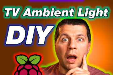 Kiril Peyanski amazed from the tv ambient light with raspberry pi and hyperion