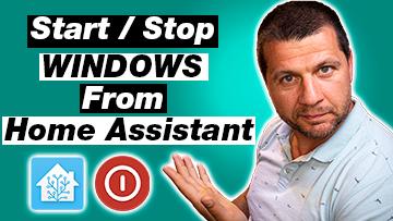 Kiril Peyanski pointing at start / stop windows from Home Assistant