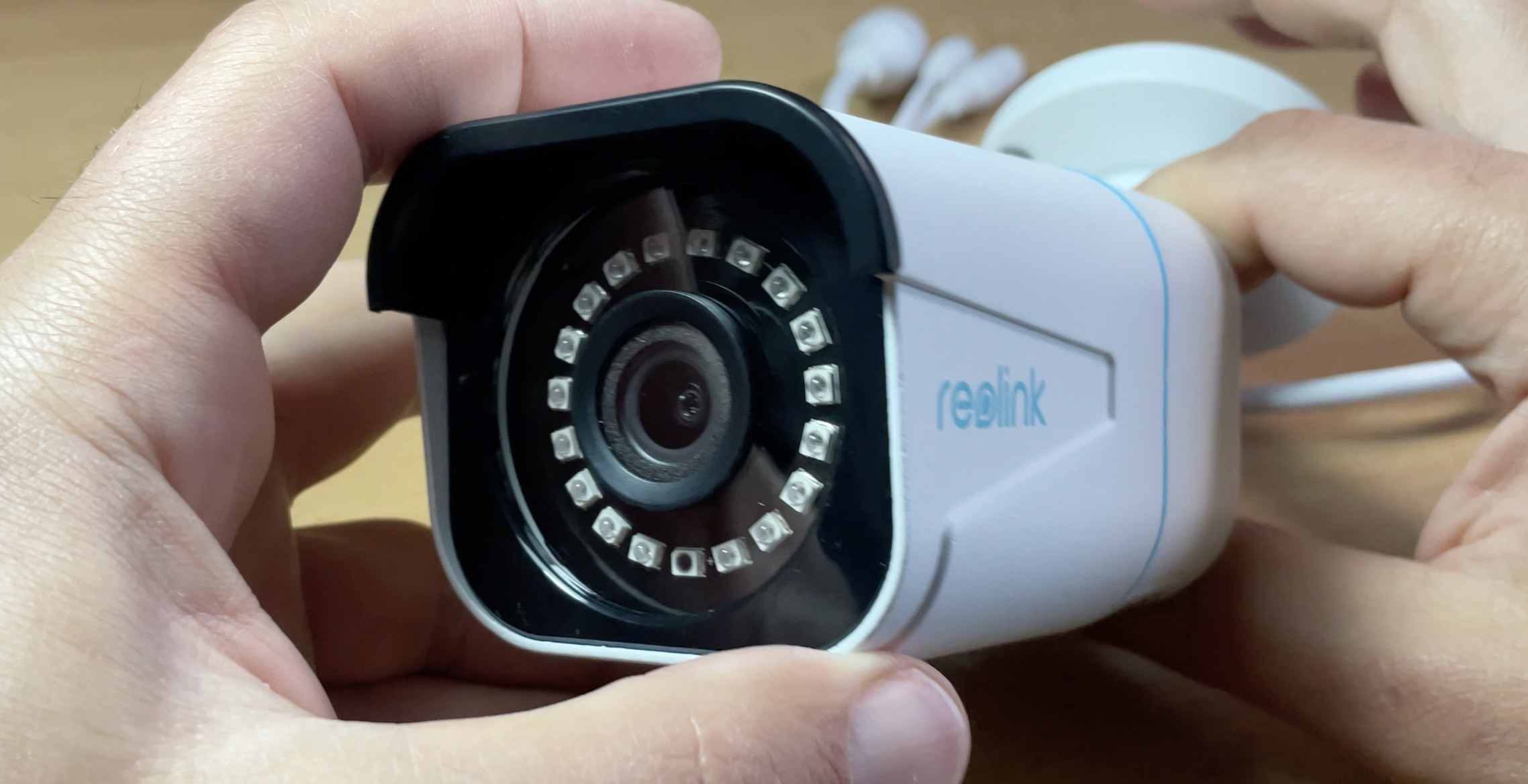 The 4K Reolink RLC-810A with AI - local Person & Vehicle detection.